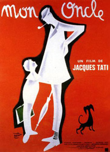 Mononcle poster Jacques Tati: Kitchen scene from Mon Oncle (1958)