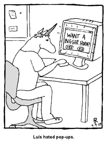 Unicorn Webby Comics: Unicorn