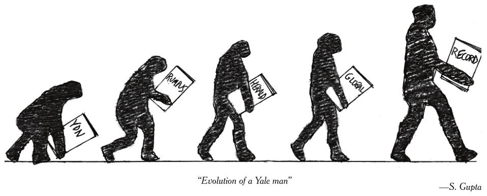 evolution yale Evolution of a Yale Man